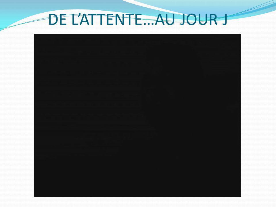 DE L'ATTENTE…AU JOUR J