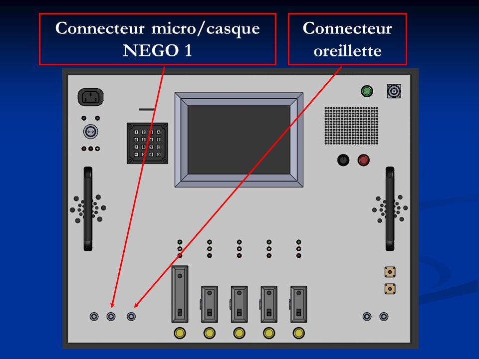 Connecteur micro/casque