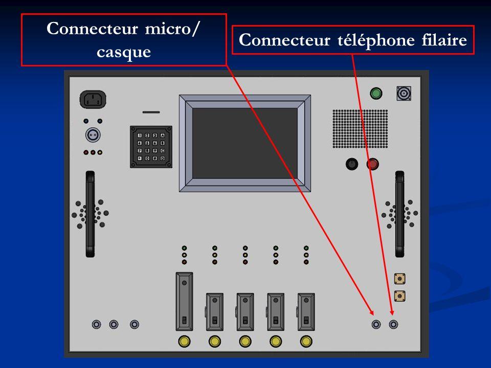 Connecteur téléphone filaire