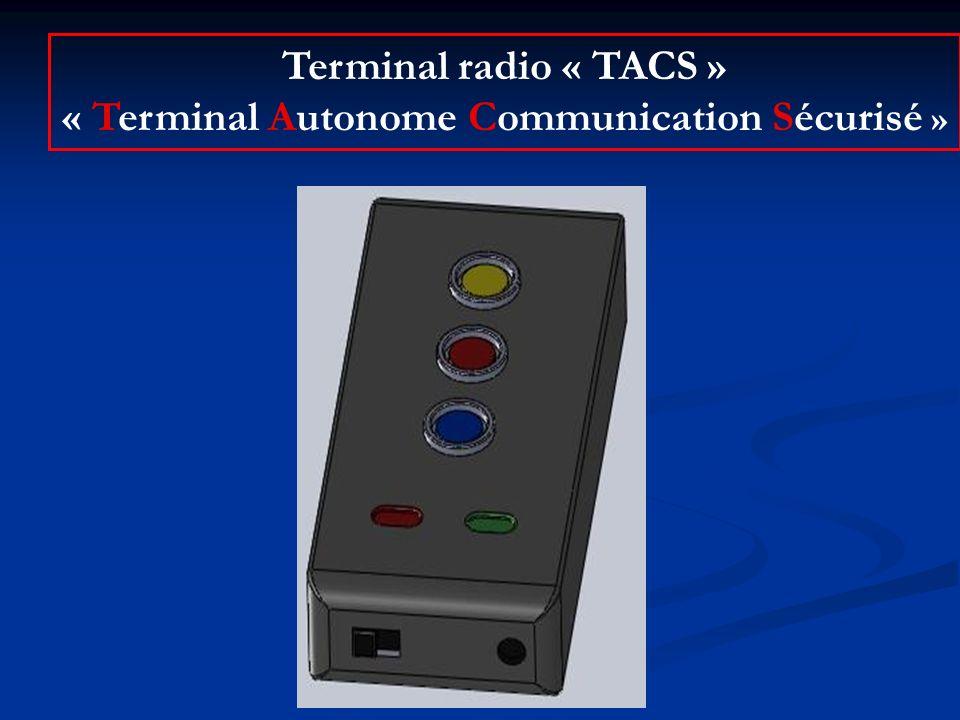 « Terminal Autonome Communication Sécurisé »