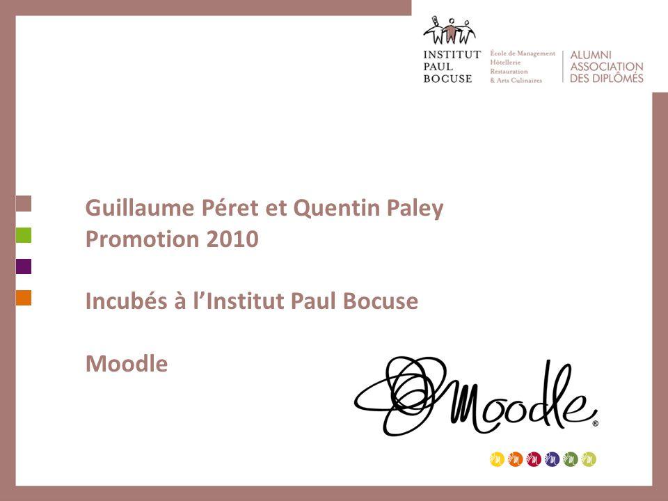 Guillaume Péret et Quentin Paley