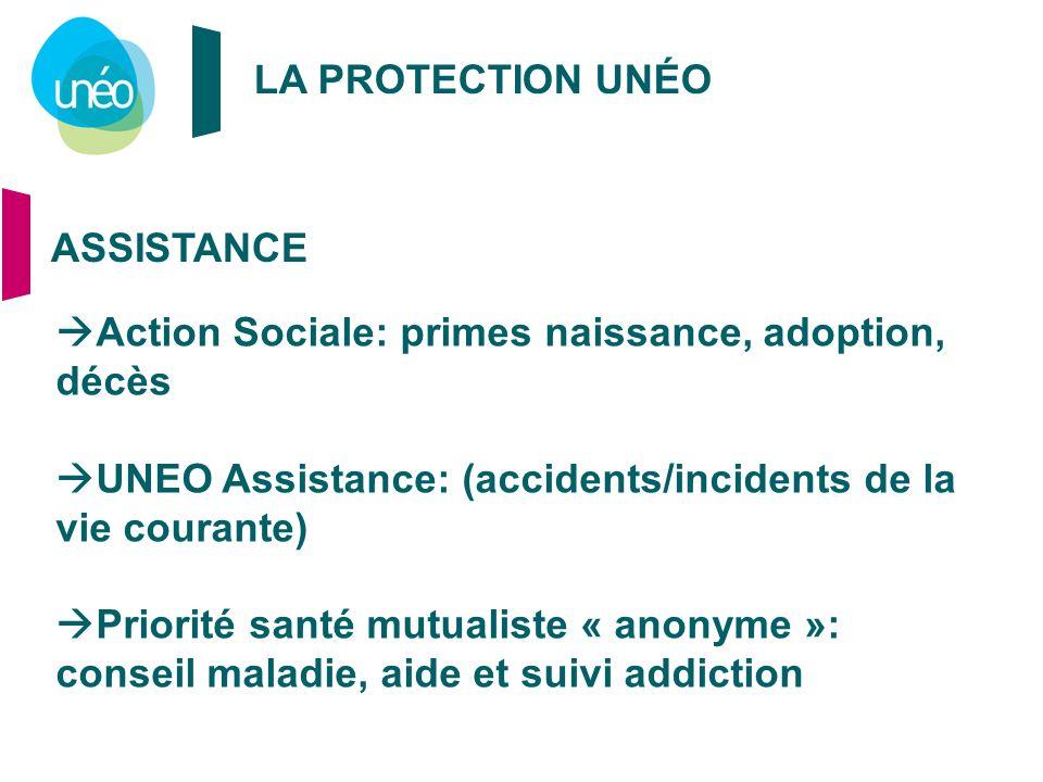 Action Sociale: primes naissance, adoption, décès