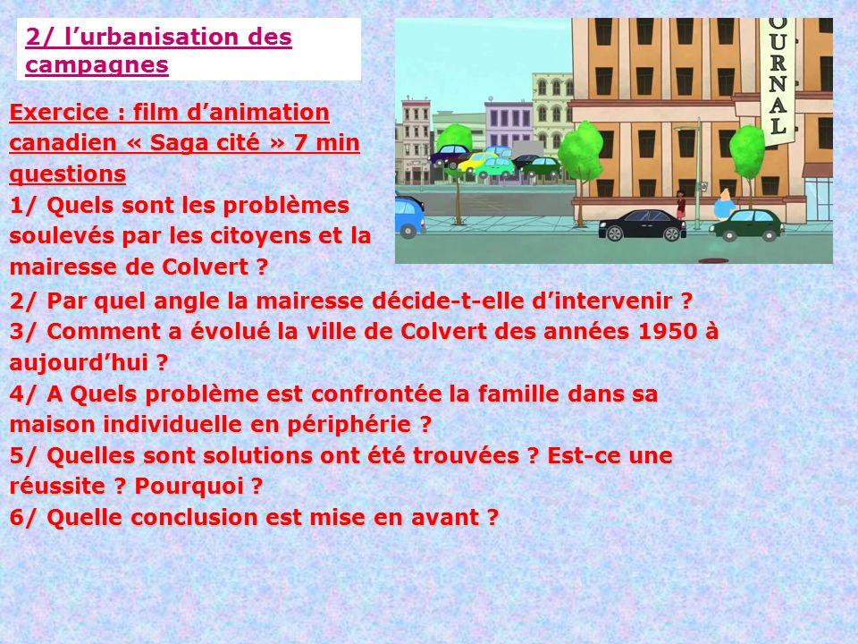 Pourquoi De Plus En Plus De Francais Habitent En Ville