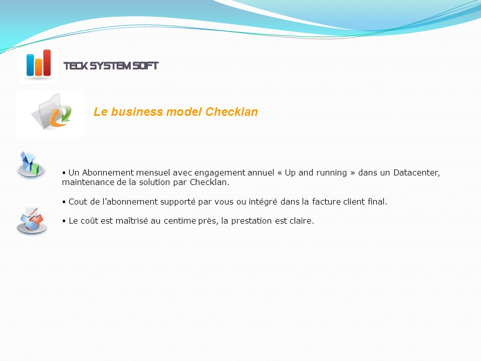 Le business model Checklan