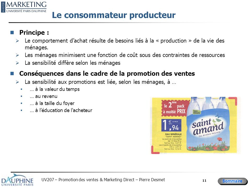 Le consommateur producteur