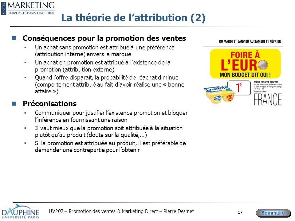 La théorie de l'attribution (2)