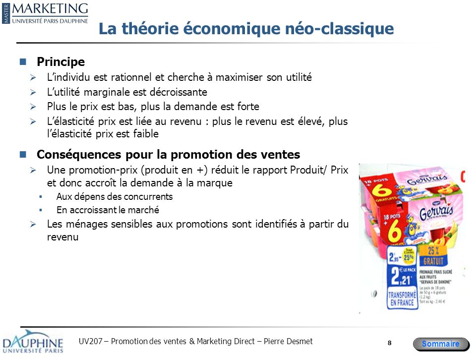 La théorie économique néo-classique