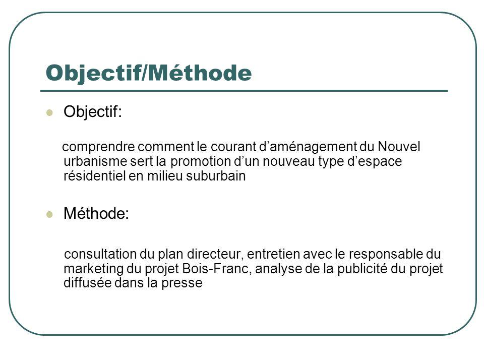 Objectif/Méthode Objectif: Méthode: