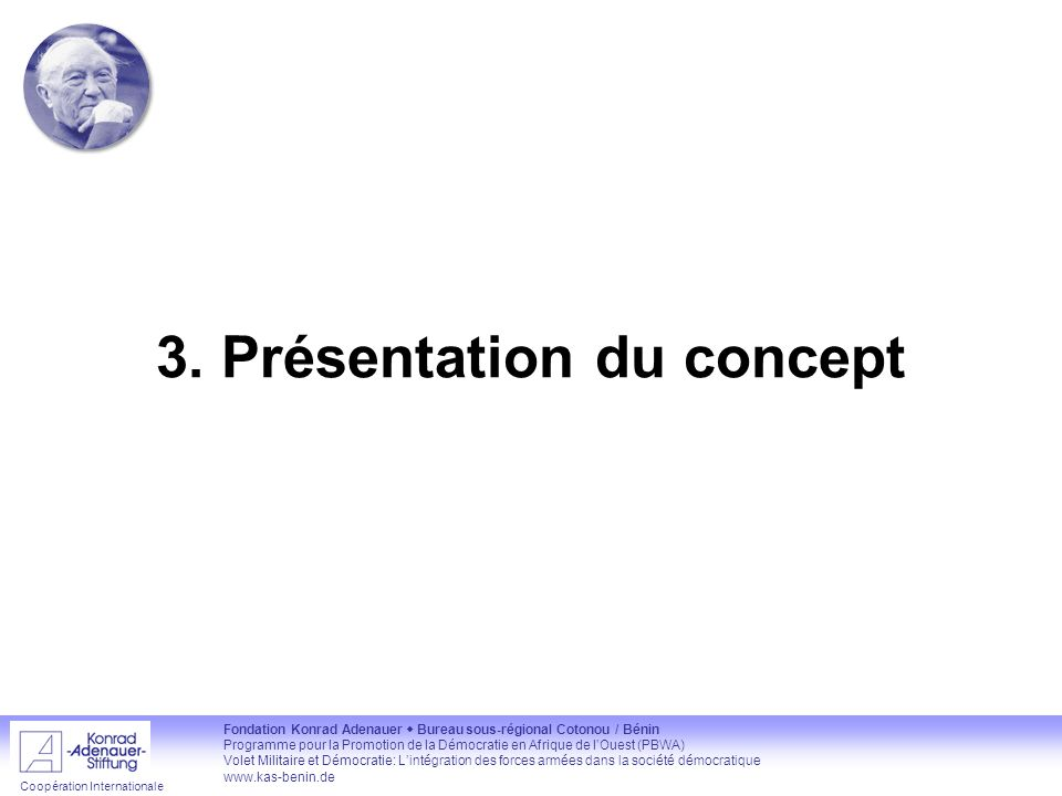 3. Présentation du concept