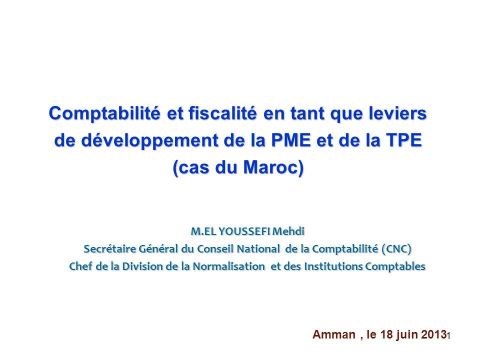 Comptabilité et fiscalité en tant que leviers de développement de la PME et de la TPE