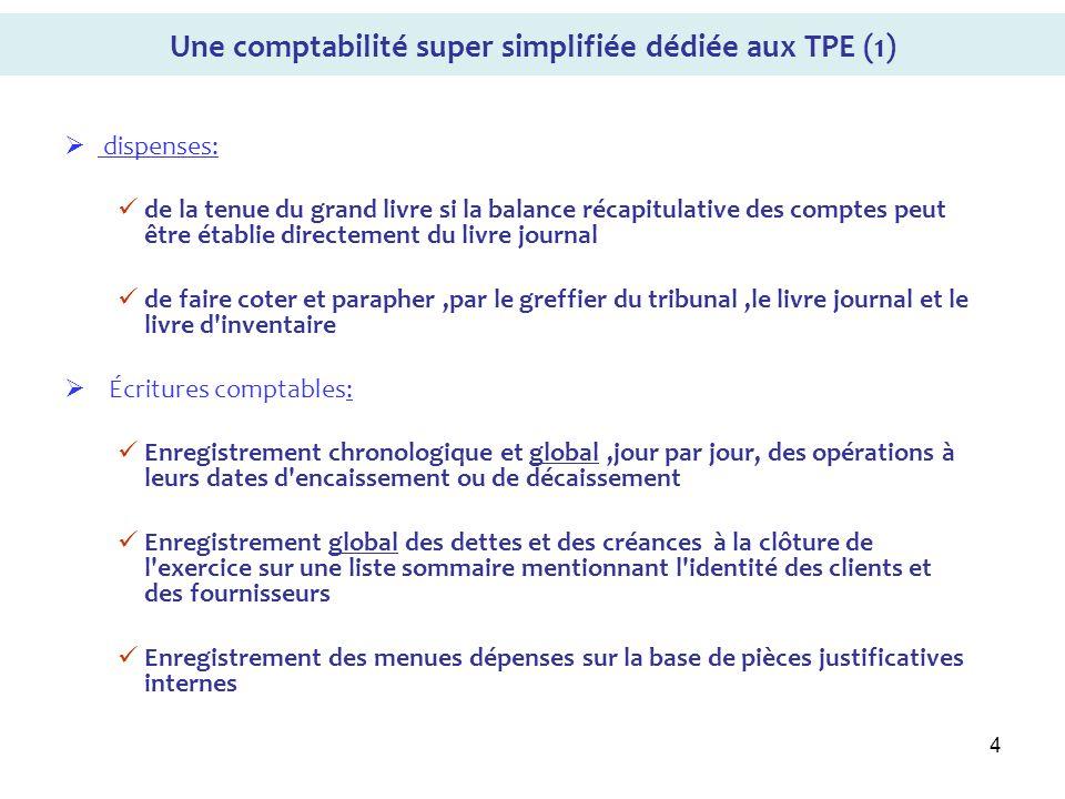Une comptabilité super simplifiée dédiée aux TPE (1)