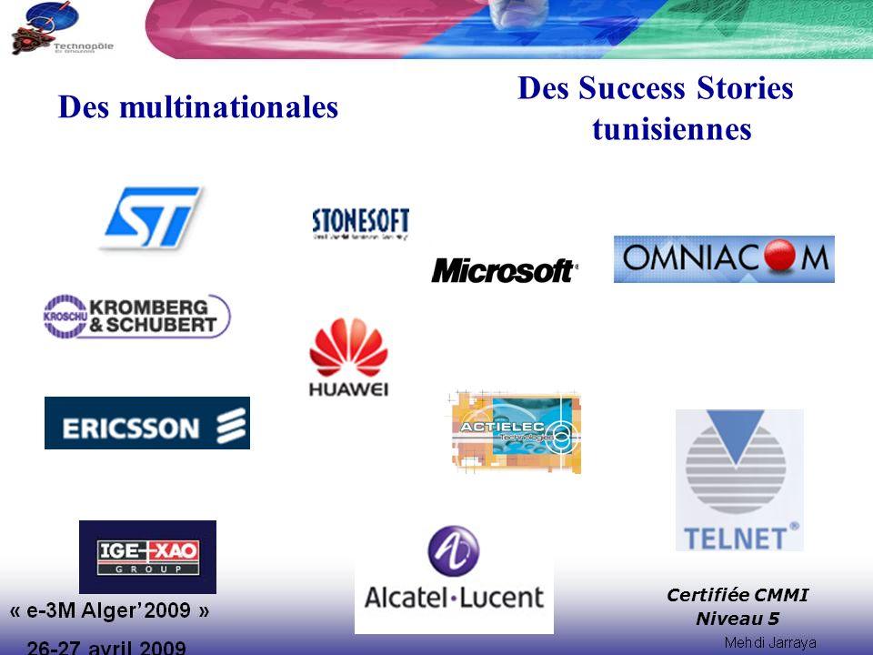 Des Success Stories tunisiennes