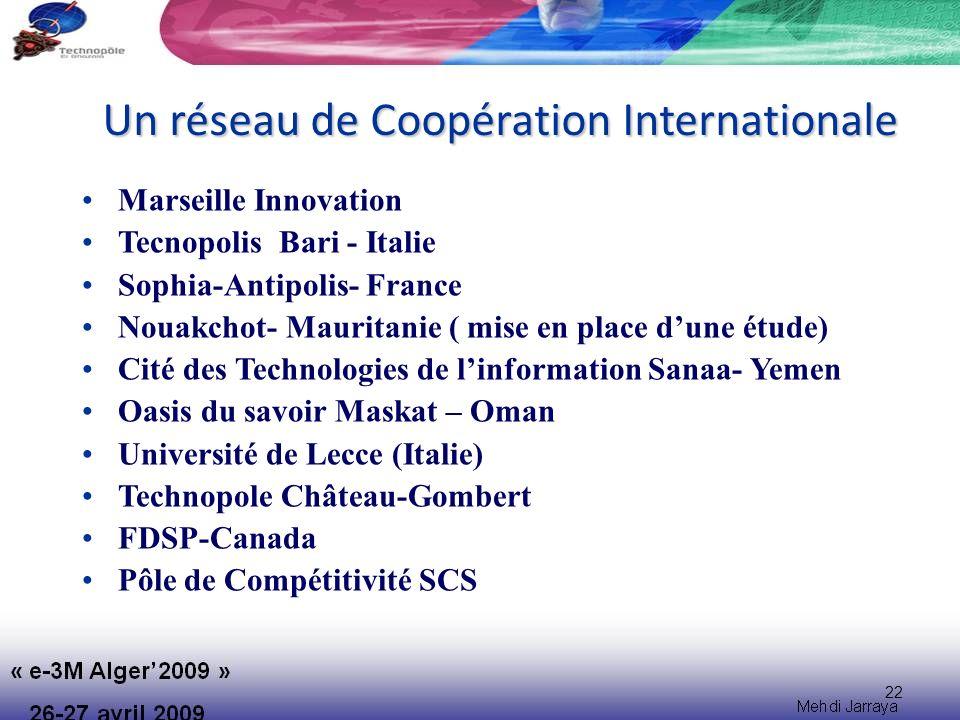 Un réseau de Coopération Internationale