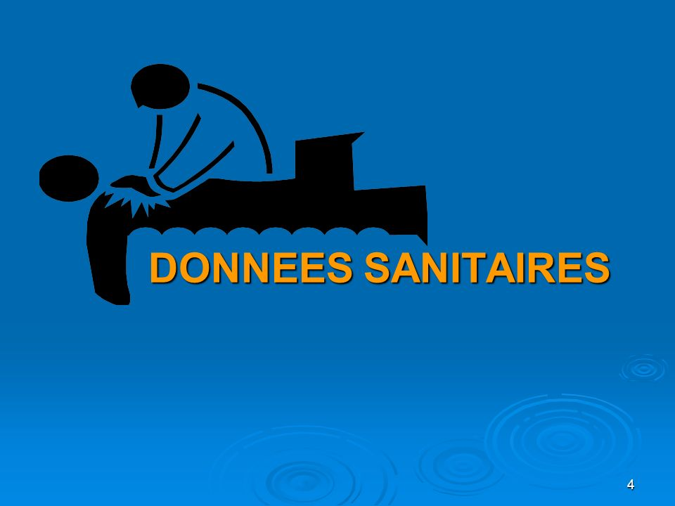 DONNEES SANITAIRES