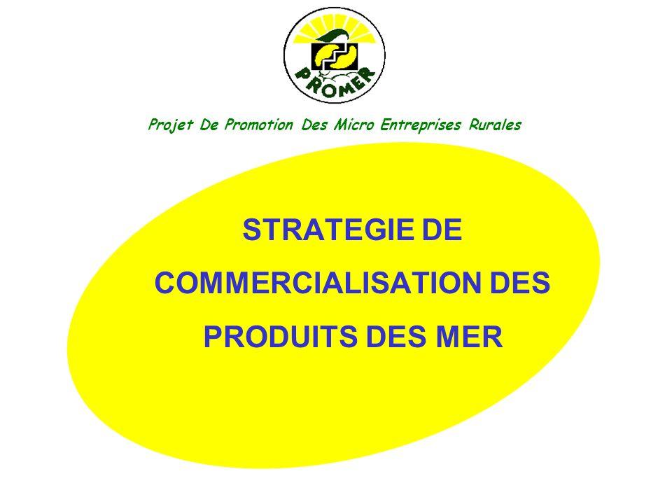 STRATEGIE DE COMMERCIALISATION DES PRODUITS DES MER