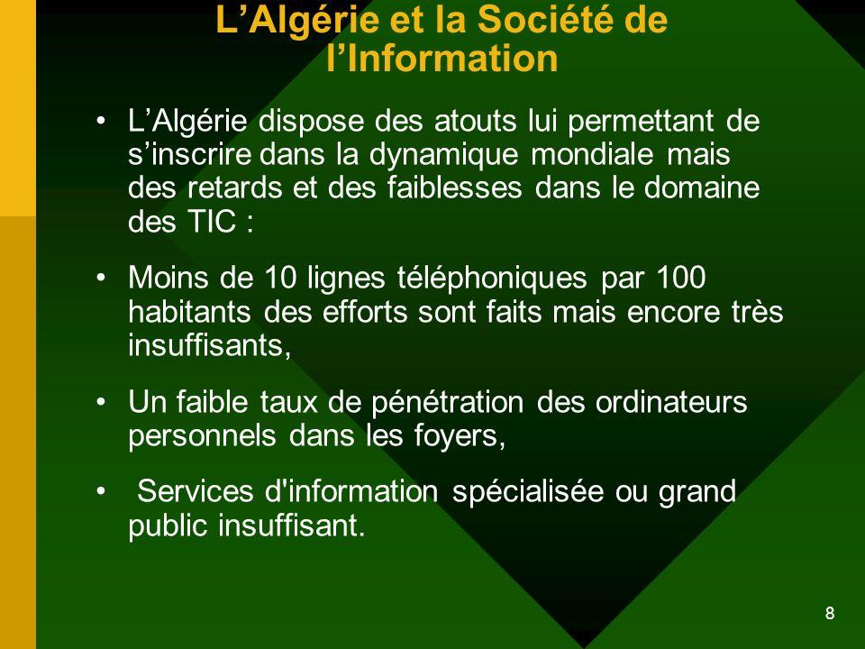 L'Algérie et la Société de l'Information