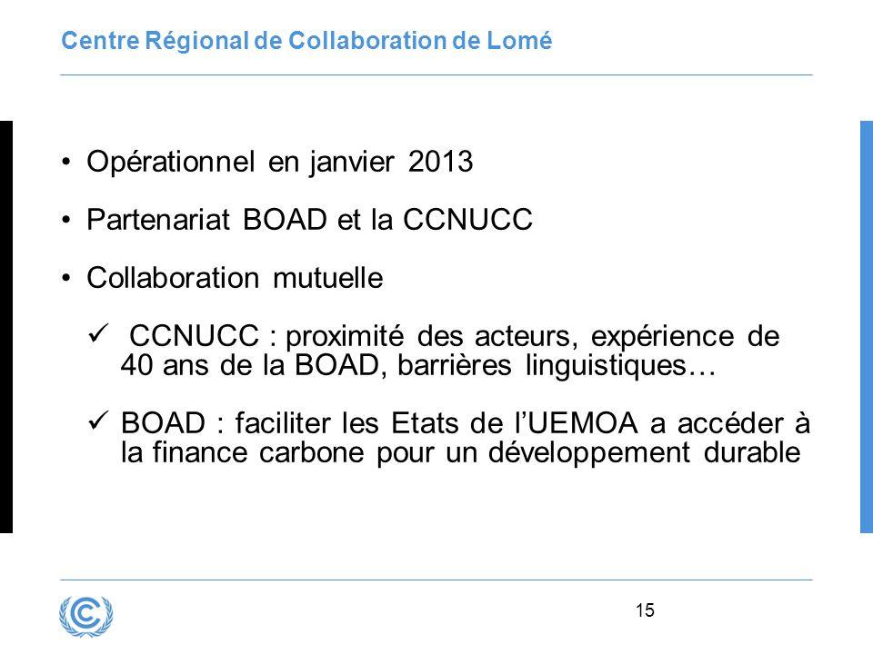 Centre Régional de Collaboration de Lomé