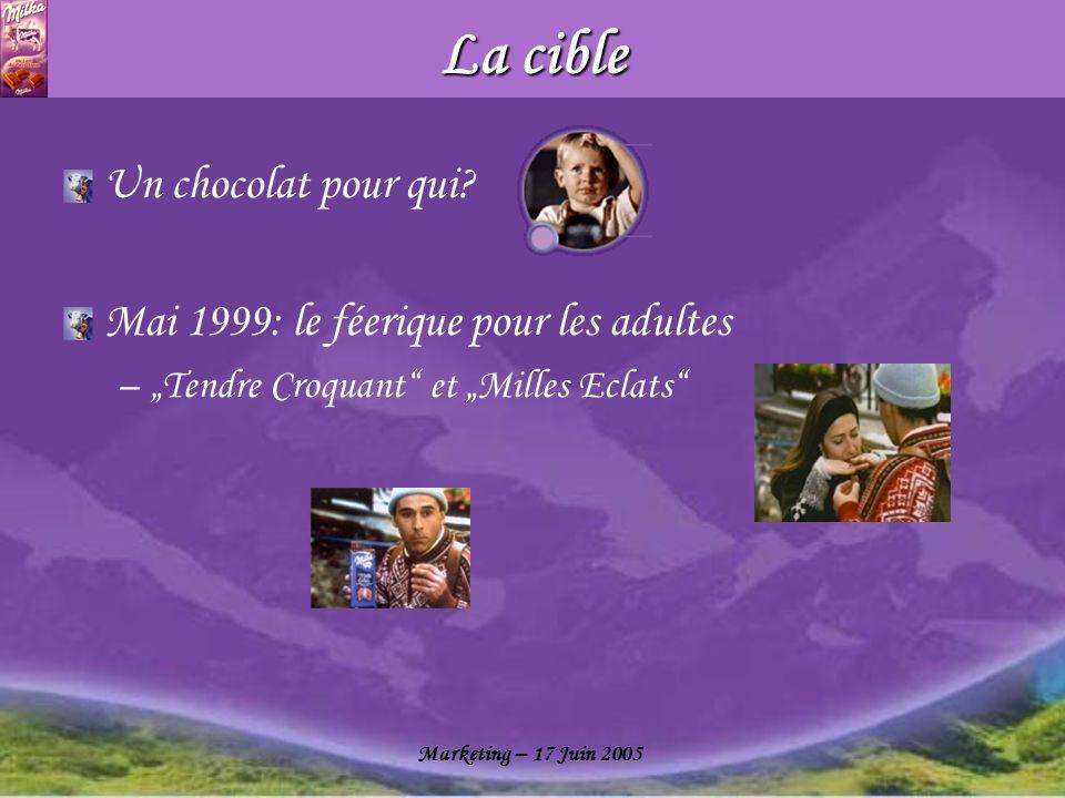 La cible Un chocolat pour qui Mai 1999: le féerique pour les adultes