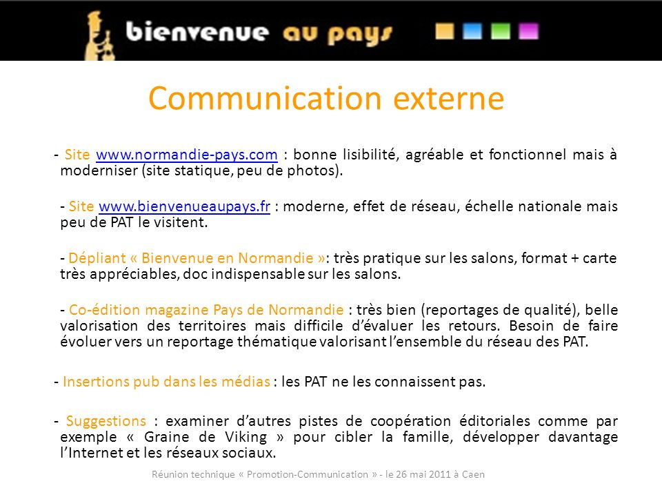 Communication externe