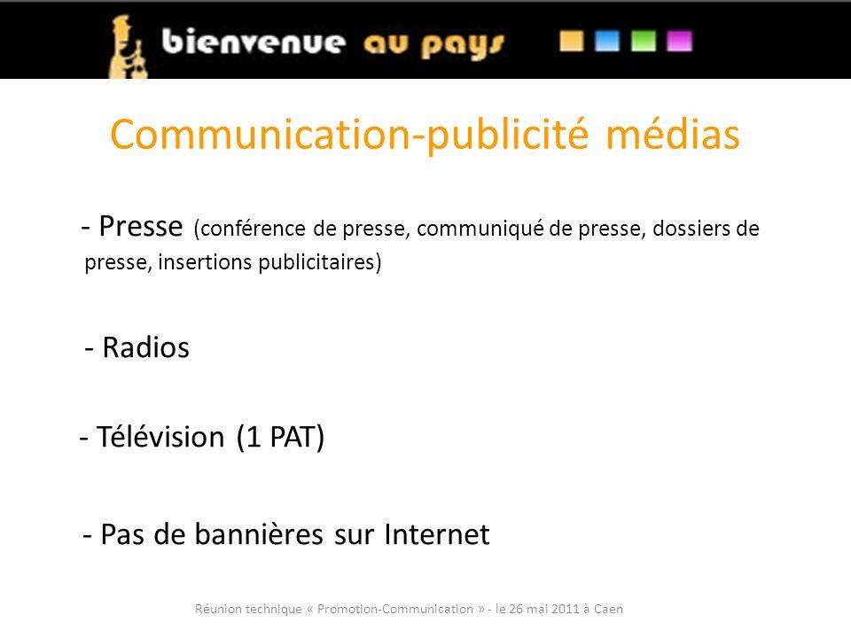 Communication-publicité médias