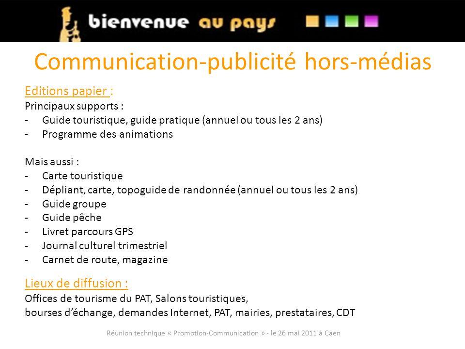 Communication-publicité hors-médias
