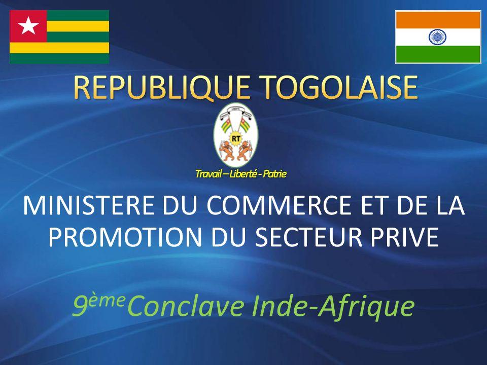 REPUBLIQUE TOGOLAISE Travail – Liberté - Patrie