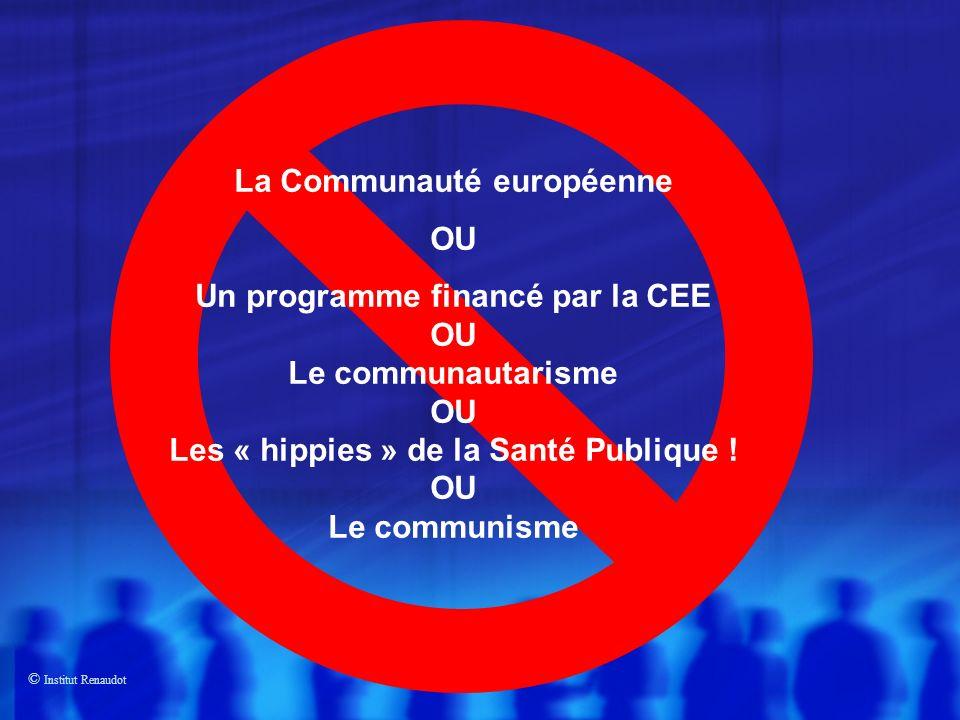 La Communauté européenne OU Un programme financé par la CEE
