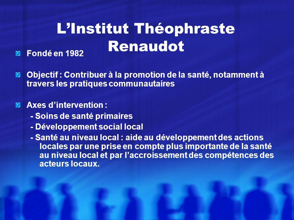 L'Institut Théophraste Renaudot