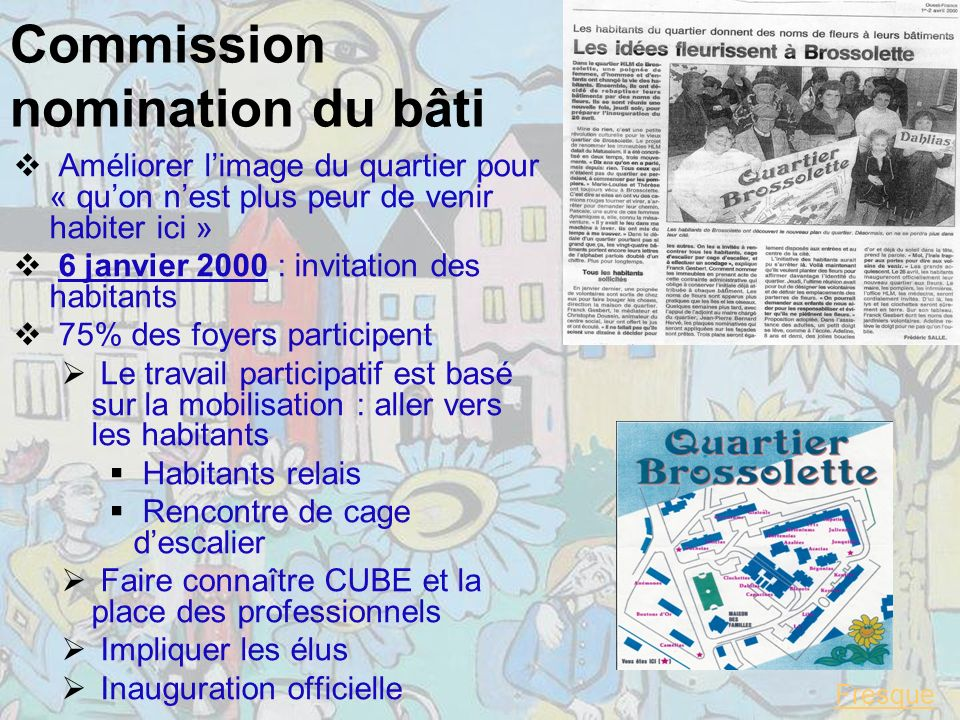 Commission nomination du bâti