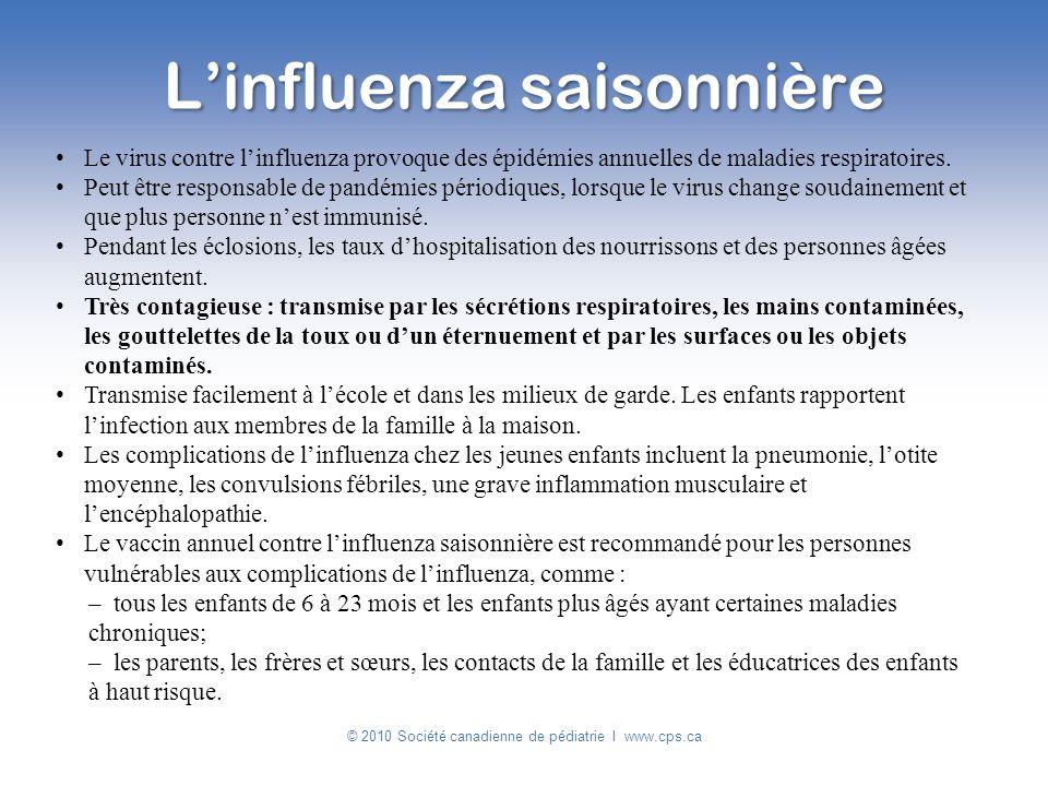L'influenza saisonnière