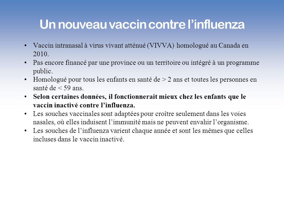 Un nouveau vaccin contre l'influenza