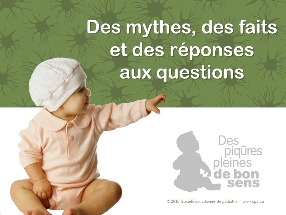 Des mythes, des faits et des réponses aux questions