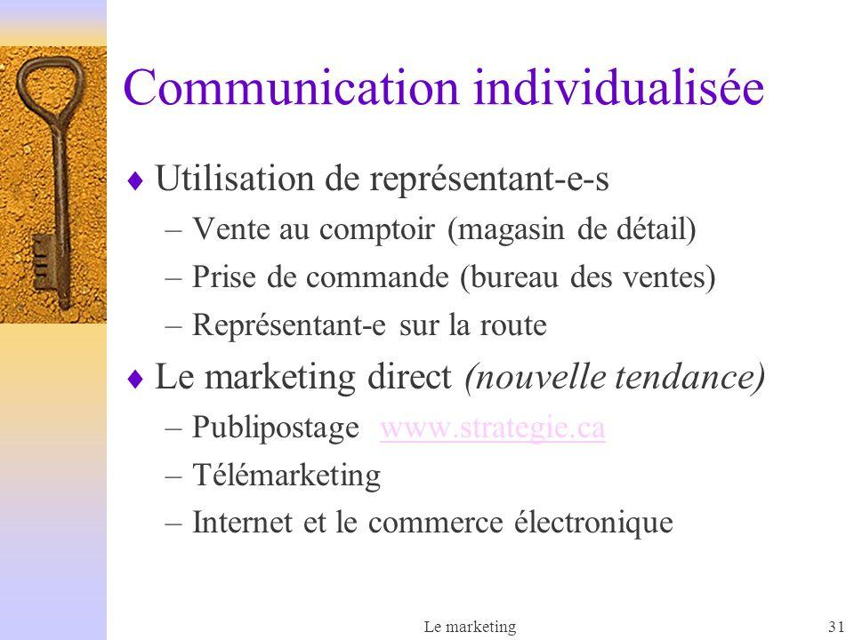 Communication individualisée