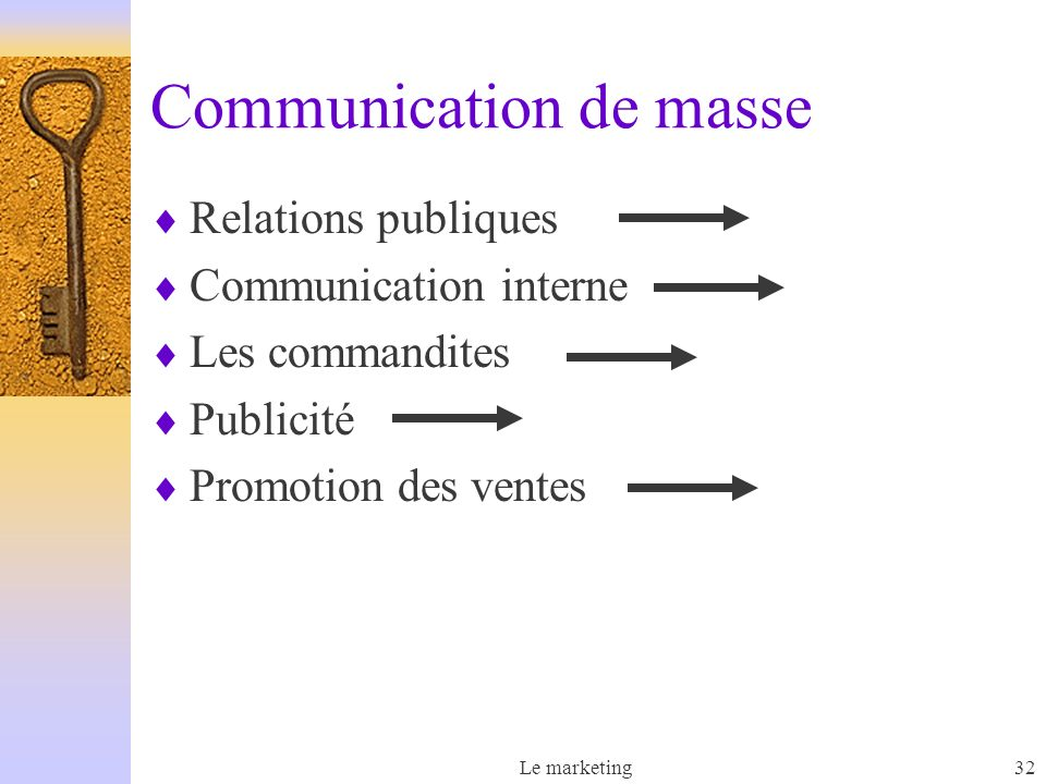 Communication de masse