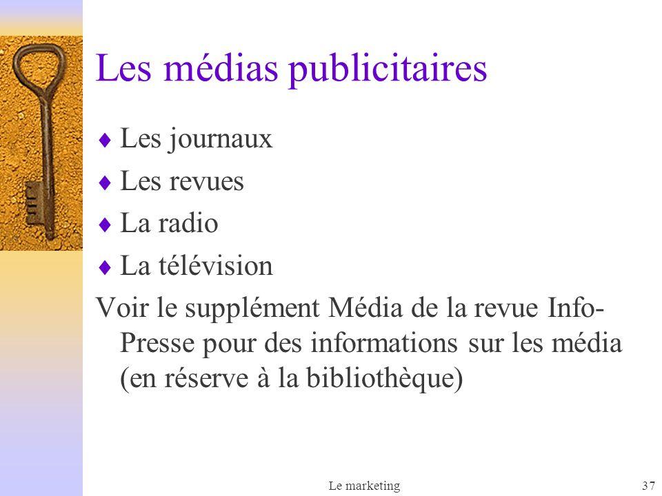 Les médias publicitaires