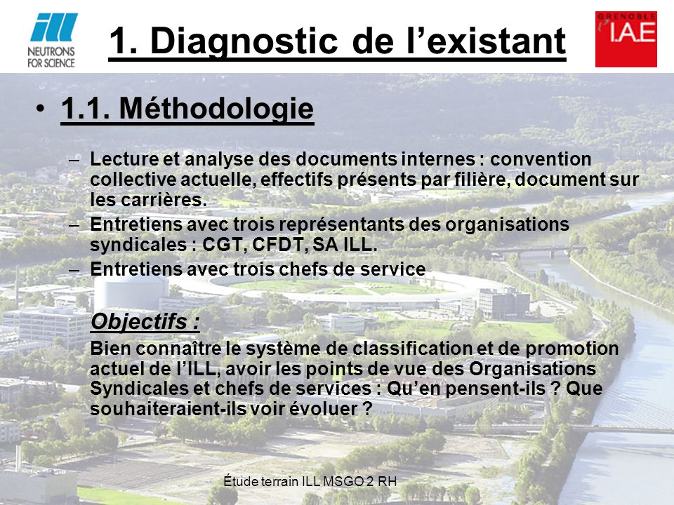 1. Diagnostic de l'existant