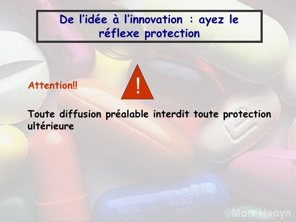 De l'idée à l'innovation : ayez le réflexe protection