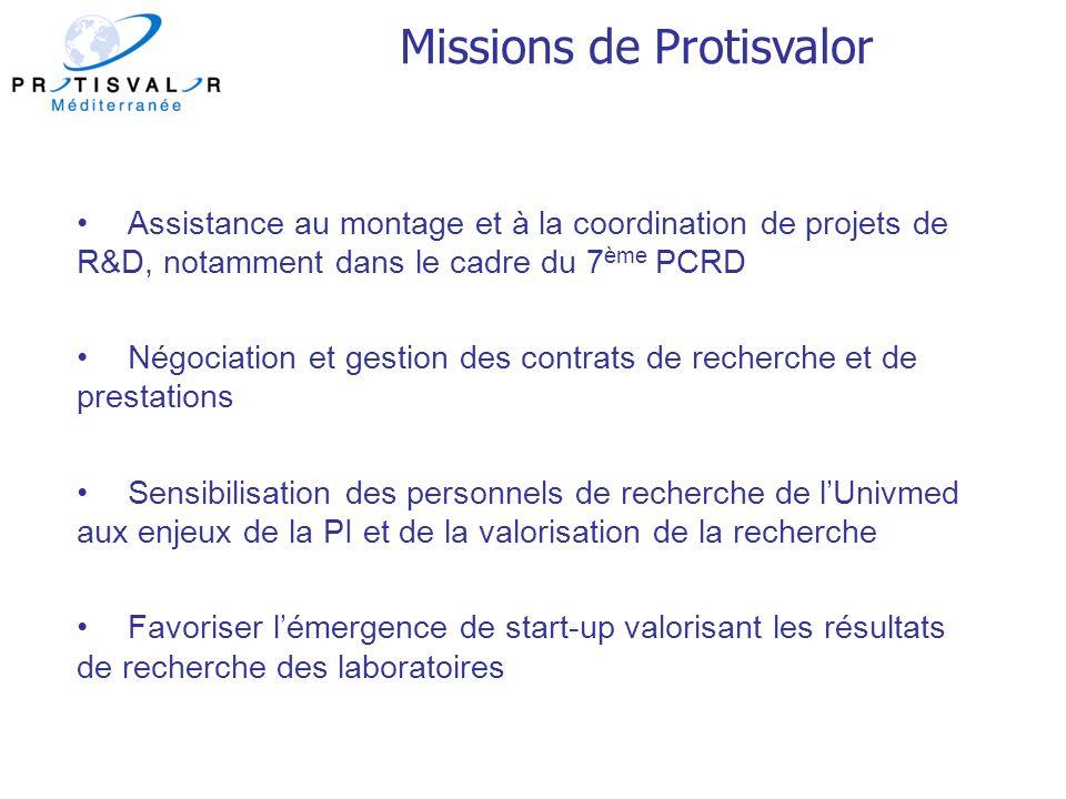 Missions de Protisvalor