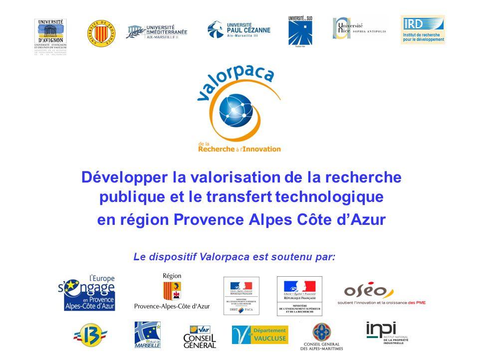 en région Provence Alpes Côte d'Azur