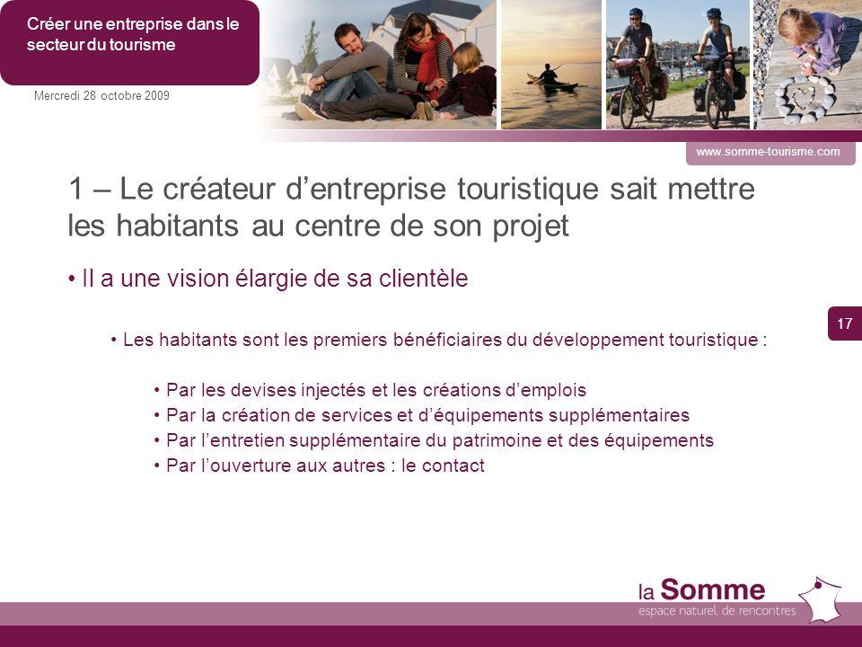 Créer une entreprise dans le secteur du tourisme