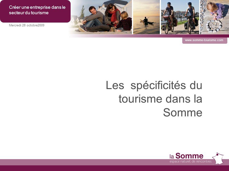 Les spécificités du tourisme dans la Somme