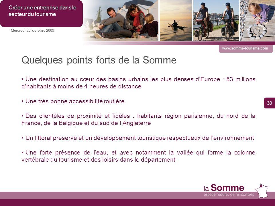 Quelques points forts de la Somme