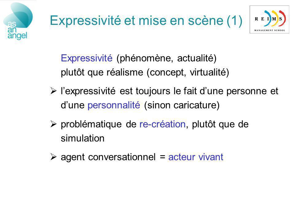 Expressivité et mise en scène (1)