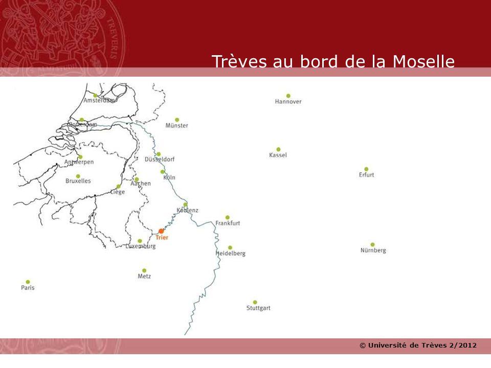 Trèves au bord de la Moselle