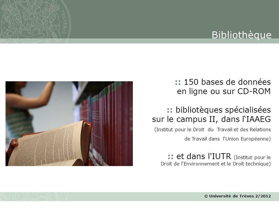 Bibliothèque :: 150 bases de données en ligne ou sur CD-ROM