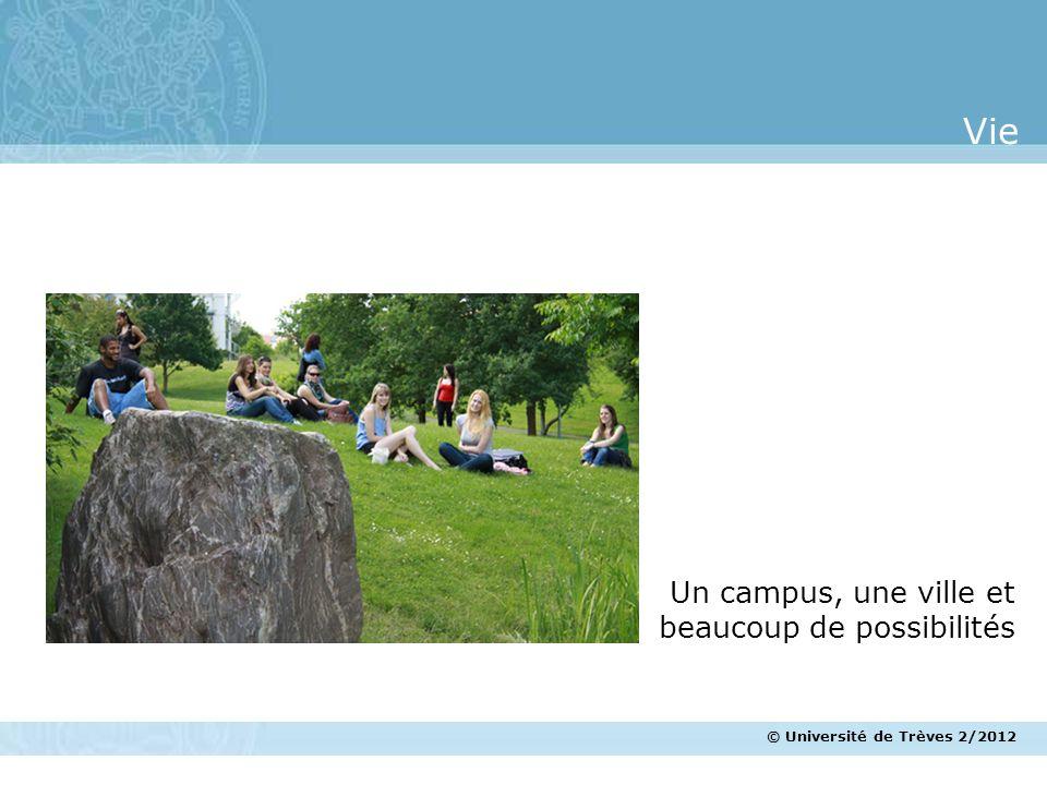Vie Un campus, une ville et beaucoup de possibilités