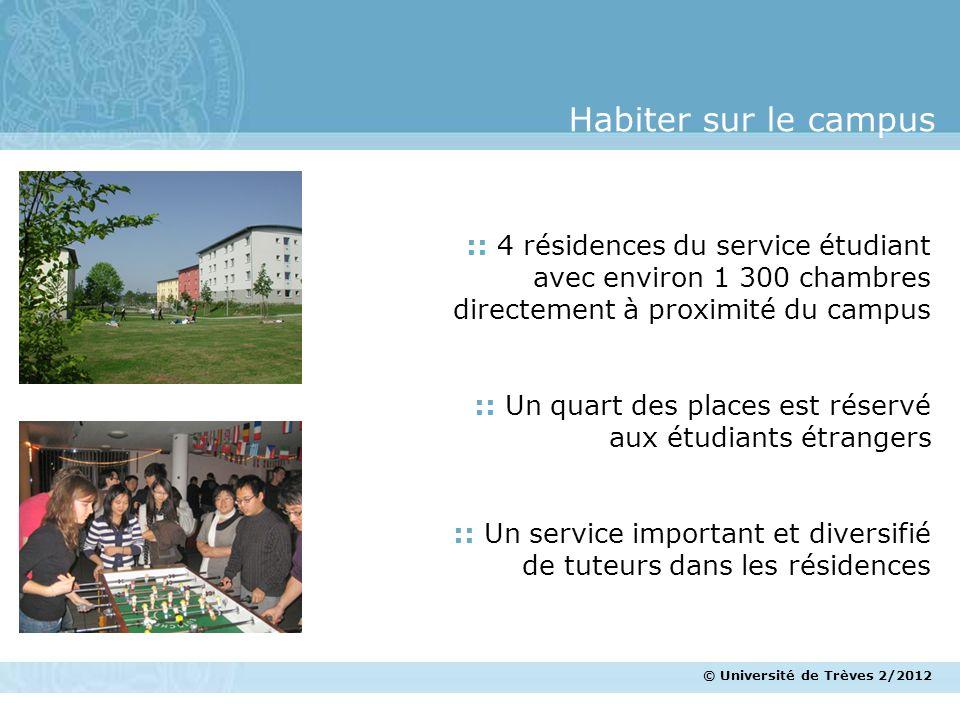 Habiter sur le campus :: 4 résidences du service étudiant