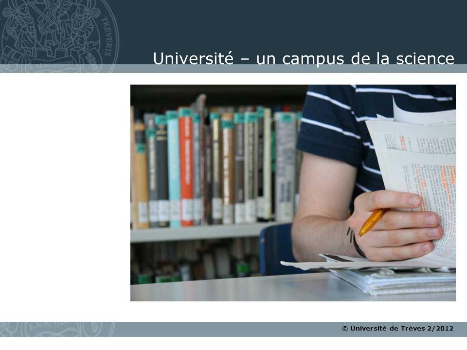 Université – un campus de la science