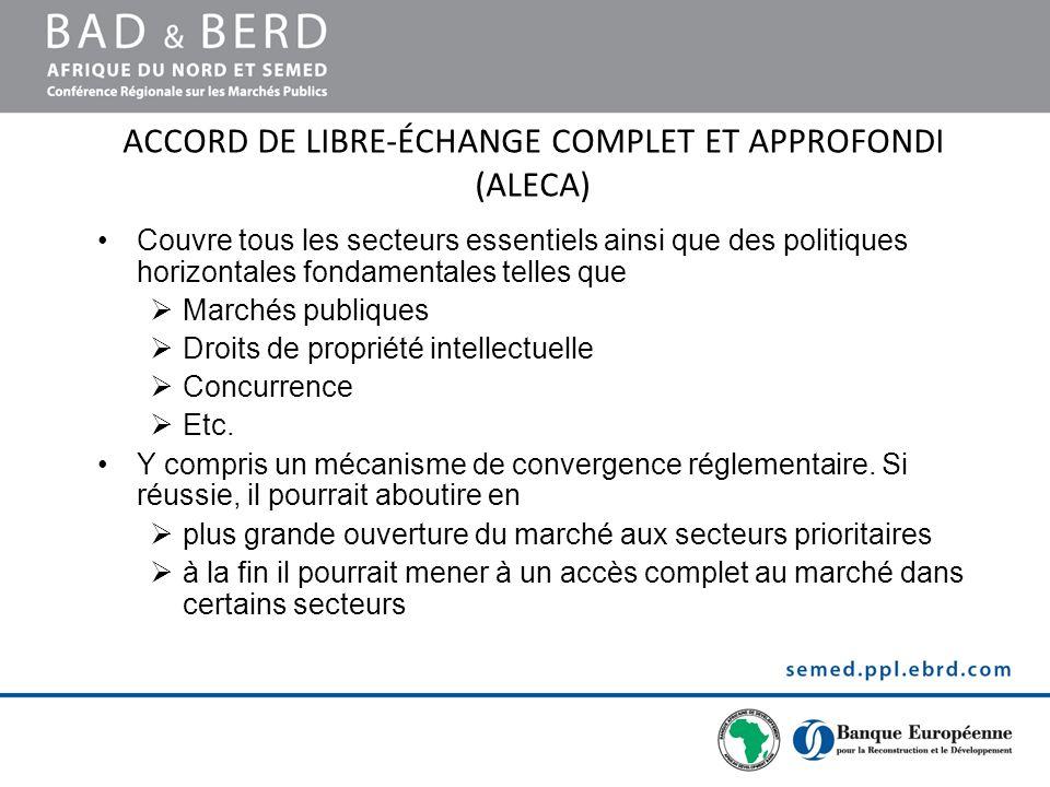 accord de libre-échange complet et approfondi (ALECA)
