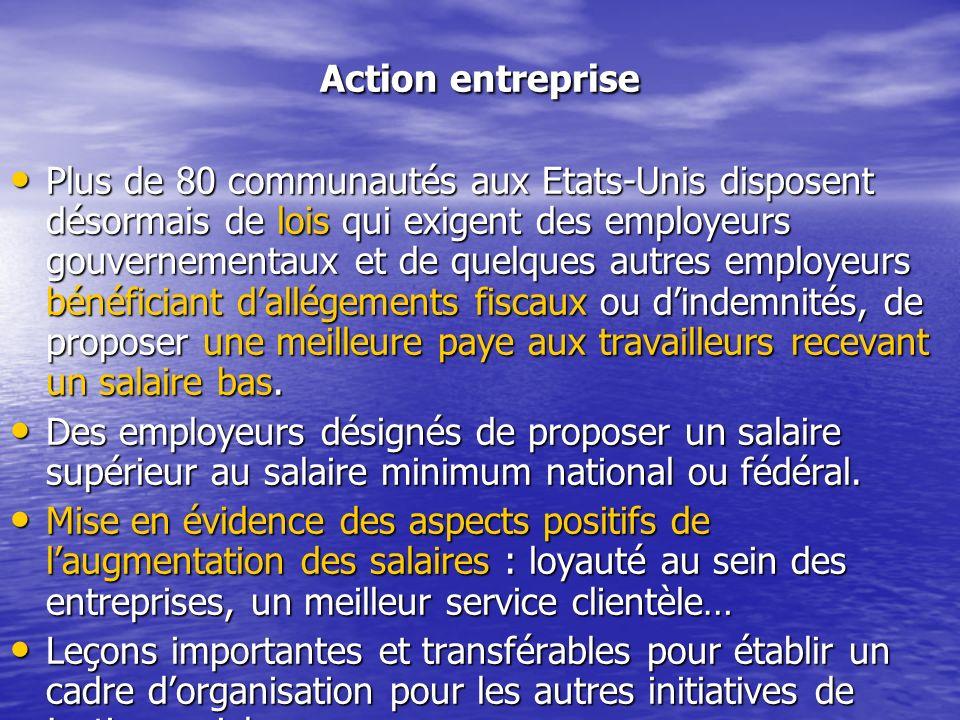Action entreprise